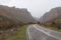 Գորիս-Տաթև-Աղվանի ավտոճանապարհը երկկողմանի բացվել է