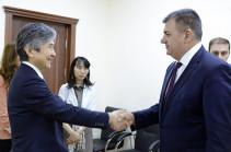 Քաղաքական նոր իրավիճակները համագործակցության նոր հեռանկարներ են բացել. նախարարը՝ ՀՀ-ում Ճապոնիայի դեսպանին
