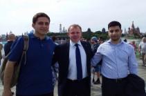 Армянские студенты по приглашению компании «Росатом» побывали в Москве и Санкт-Петербурге
