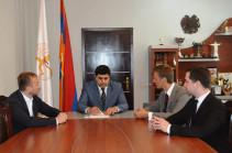 Սպորտի նախարարը հյուրընկալել է ՌԴ երիտասարդական հանրային պալատի ներկայացուցիչներին