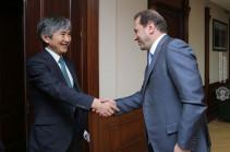 ՀՀ-ում Ճապոնիայի դեսպանը խոստանում է նոր ջանքեր ներդնել պաշտպանության բնագավառում փոխադարձ համագործակցությունը զարգացնելու համար