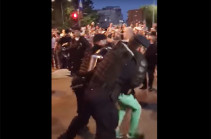 В Румынии протестовали против правительства (Видео)
