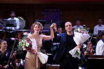 Պոլինա Օսետինսկայայի և Կարեն Շահգալդյանի ելույթներով ամփոփվեց «Արմենիա» միջազգային փառատոնը