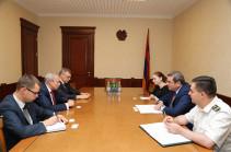 ՊԵԿ նախագահն ու ՀՀ-ում ՌԴ դեսպանը քննարկել են համագործակցության հեռանկարները