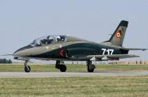 В Румынии разбился военный тренировочный самолет