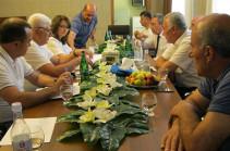 Ջրային կոմիտեի նախագահն աշխատանքային շաբաթը սկսել է մարզային այցերով