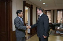 Դավիթ Տոնոյանը Չինաստանի դեսպանի հետ քննարկել է հայ-չինական համագործակցությունը
