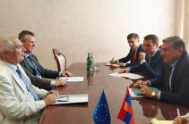 ԵՄ-ն կշարունակի համագործակցությունը  ՀՀ գյուղատնտեսության նախարարության հետ ֆինանսական և տեխնիկական օժանդակության ձևաչափերով. Սվիտալսկի