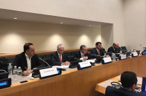 Зограб Мнацаканян говорил в Нью-Йорке о важности сферы инноваций для Армении