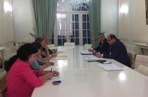 Հայաստանի և Ռումինիայի պատվիրակությունները քննարկել են երկու երկրների համագործակցության ընդլայնման հեռանկարները