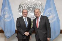 ՀՀ ԱԳ նախարարը ՄԱԿ-ի գլխավոր քարտուղարին է ներկայացրել Հայաստանում տեղի ունեցած վերջին ներքաղաքական զարգացումները