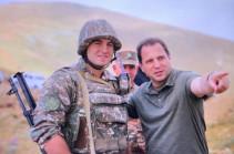 Դավիթ Տոնոյանը այցելել է հանրապետության հարավ-արևմտյան սահմանագոտի