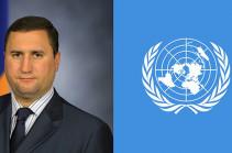 Заместитель министра обороны Армении провел ряд встреч в штаб-квартире ООН