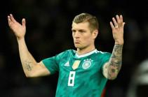 Кроос признан футболистом года в Германии
