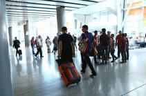 Пассажиропоток в двух аэропортах Армении возрос на 11 процентов