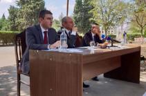 Արցախի նախագահ Բակո Սահակյանը Մարտունիում ընդլայնված կազմով խորհդակցություն է անցկացնում