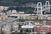 Власти предупредили о существенном росте числа жертв обрушения моста в Генуе