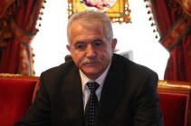 Олег Есаян отозвал с должности посла Армении в Беларуси