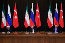Սիրիային նվիրված ՌԴ-ի, Թուրքիայի և Իրանի գագաթաժողովը կկայանա Թեհրանում