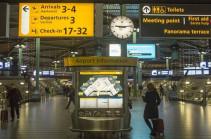 Аэропорт Амстердама временно прекратил работу
