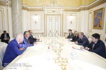 Վարչապետ Նիկոլ Փաշինյանն ընդունել է ԵԶԲ վարչության նախագահ Անդրեյ Բելյանինովի