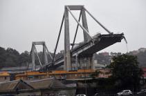 Եվրահանձնաժողովը սուգ է հայտարարել Ջենովայում կամրջի փլվելու կապակցությամբ