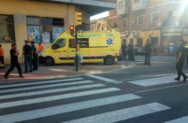 В Испании автомобиль протаранил пешеходов, есть пострадавшие