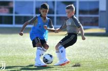Like father, like son! Cristiano Ronaldo Jnr joins Juventus' under-9 squad