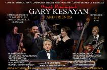 """Gary Kesayan"" jazz band to give concert in USA"