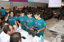 Ռոբոտների հայաստանյան 11-րդ առաջնությանը մասնակցել են 42 թիմ ՀՀ բոլոր մարզերից