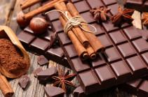 За восемь месяцев Украина экспортировала шоколадных изделий на 101 млн долларов