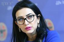 Арпине Ованнисян проинформировала ПАСЕ об обстрелах армянского села Коти со стороны Азербайджана