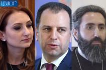 Лилит Макунц уклонилась назвать имя Вигена Саркисяна в числе инициаторов выставки «Armenia» в Нью-Йоркском музее «Метрополитен»