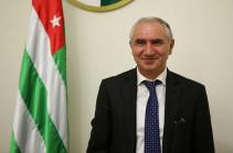 Աբխազիայի վարչապետ է նշանակվել խորհրդարանի նախկին խոսնակ Վալերի Բգանբան