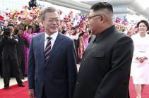 Փհենյանում մեկնարկել են ԿԺԴՀ-ի և Հարավային Կորեայի ղեկավարների բանակցությունները