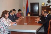 ՀՀ սպորտի նախարարը և ՀՀ-ում Վրաստանի դեսպանը քննարկել են երկու երկրների ազգային մարզաձևերի զարգացումը
