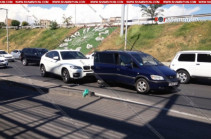 Երևանում վթարի է ենթարկվել երգչուհի Սոֆի Մխեյանի եղբայրը
