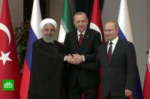 Россия, Турция и Иран продолжат переговоры по Идлибу