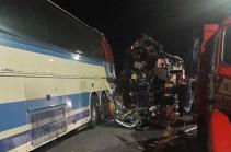 При столкновении автобусов под Воронежем погибли пять человек