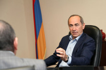 Guilt for 10 deaths lays on those who provoked March 1 mass unrest: Robert Kocharyan