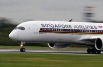 Սինգապուրի օդանավակայանում օդանավը մխրճվել է շարժասանդուղքի մեջ