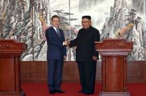 Мун Чжэ Ин сообщил, что при встрече с Трампом передаст ему послание от Ким Чен Ына