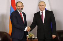 Development of allied relations goes in line with reinforcement of regional security: Russia's Putin congratulates Armenia's PM