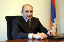 Бако Саакян поздравил Никола Пашиняна по случаю Дня независимости