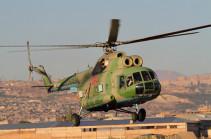 В Армении летчики армейской авиации ЮВО уничтожили условного противника в ходе летно-тактических учений