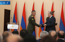 Award-giving ceremony on Armenia's Independence Day takes place at presidential residence