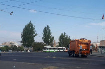New garbage removal cars already working in Yerevan