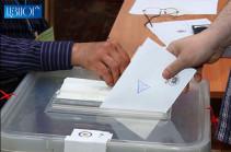 В Ереване начались выборы мэра города
