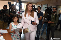 Yerevan City Council Elections exam for acting authorities: Zaruhi Postanjyan