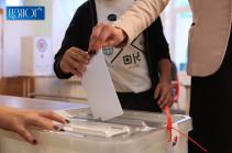 СК Армении: Зарегистрировано 5 случаев нарушения тайны голосования, 2 попытки повторного голосования